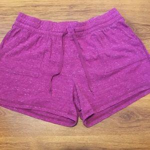 K6-Athletic works pink shorts